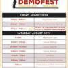 KDP Demofest 2016 schedule